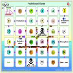 template topic preview image Pirate Game Board