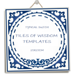 image Tiles of Wisdom template