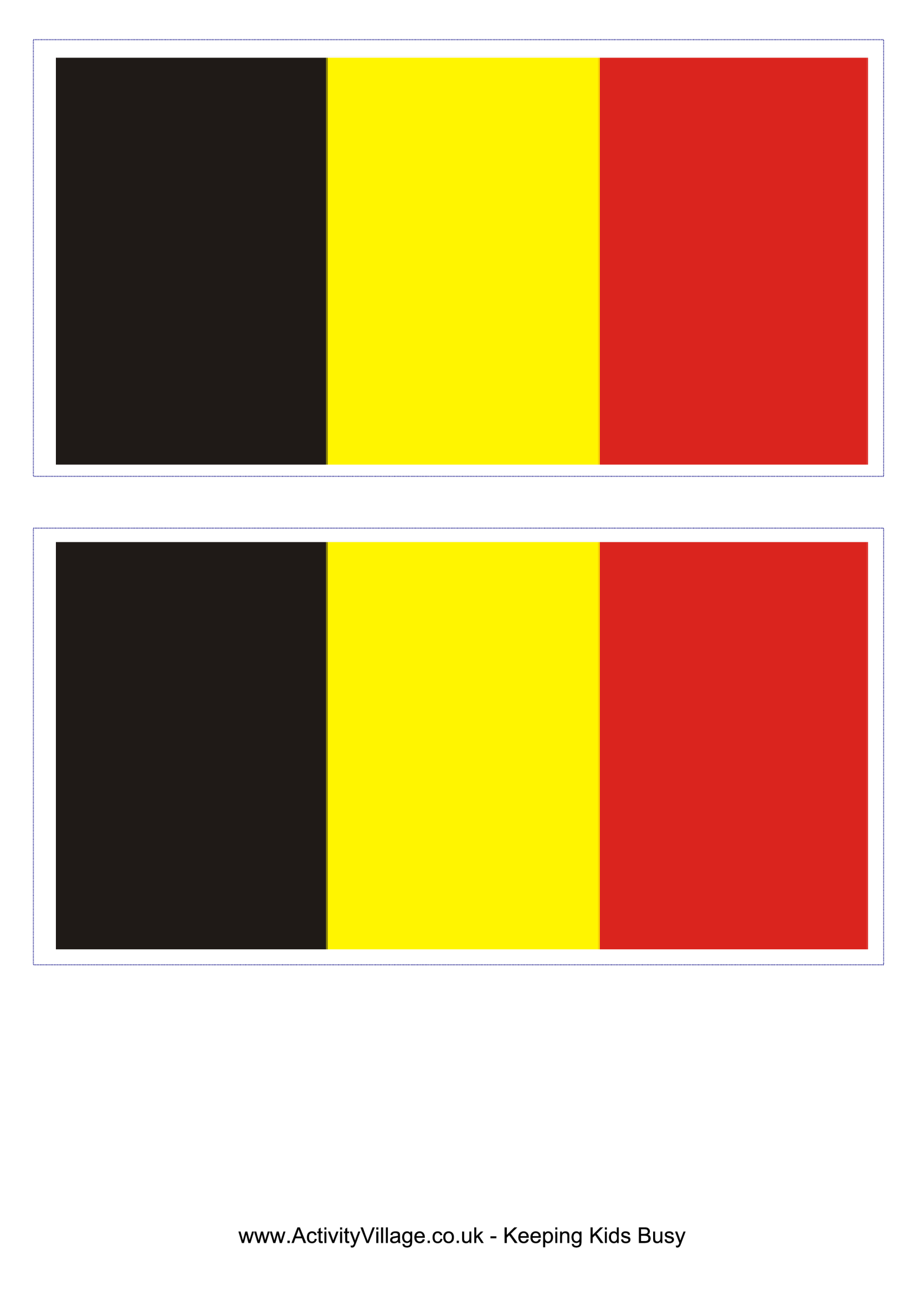 template preview imageBelgian Flag