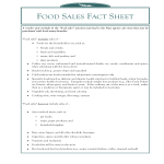template topic preview image Food Sales Fact Sheet.Pub