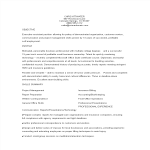 template topic preview image Functional Executive Format Resume