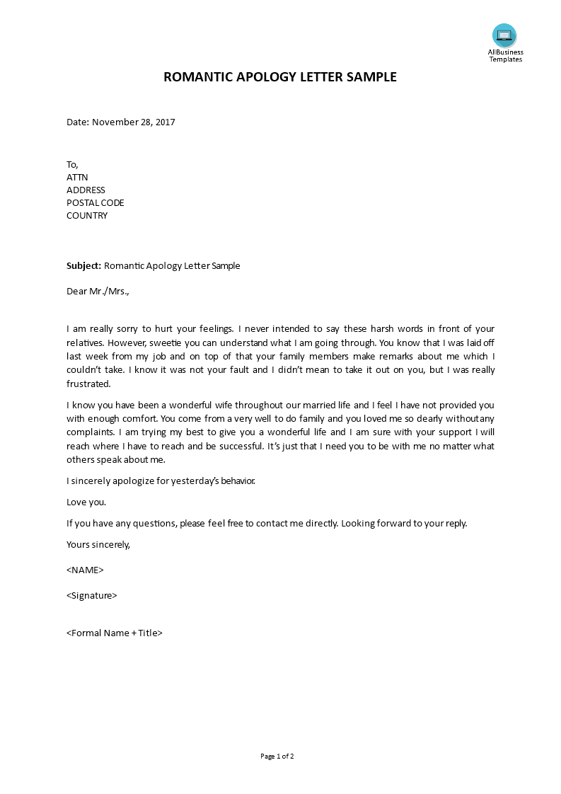 apology letter for hurt feelings samples apology letter templates at 25038 | d20a2f85 cadd 4df6 b48e 67d848fe5d6d 1