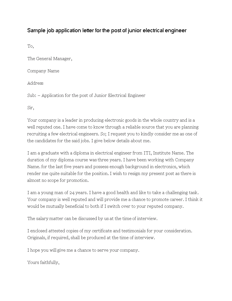 Sample Application Letter For Promotion Within Company from www.allbusinesstemplates.com