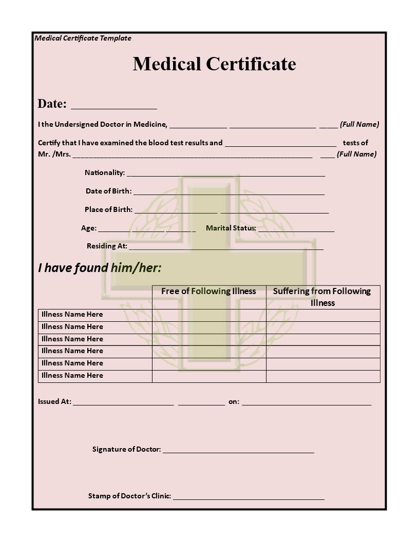 medical certificate - solarfm.tk