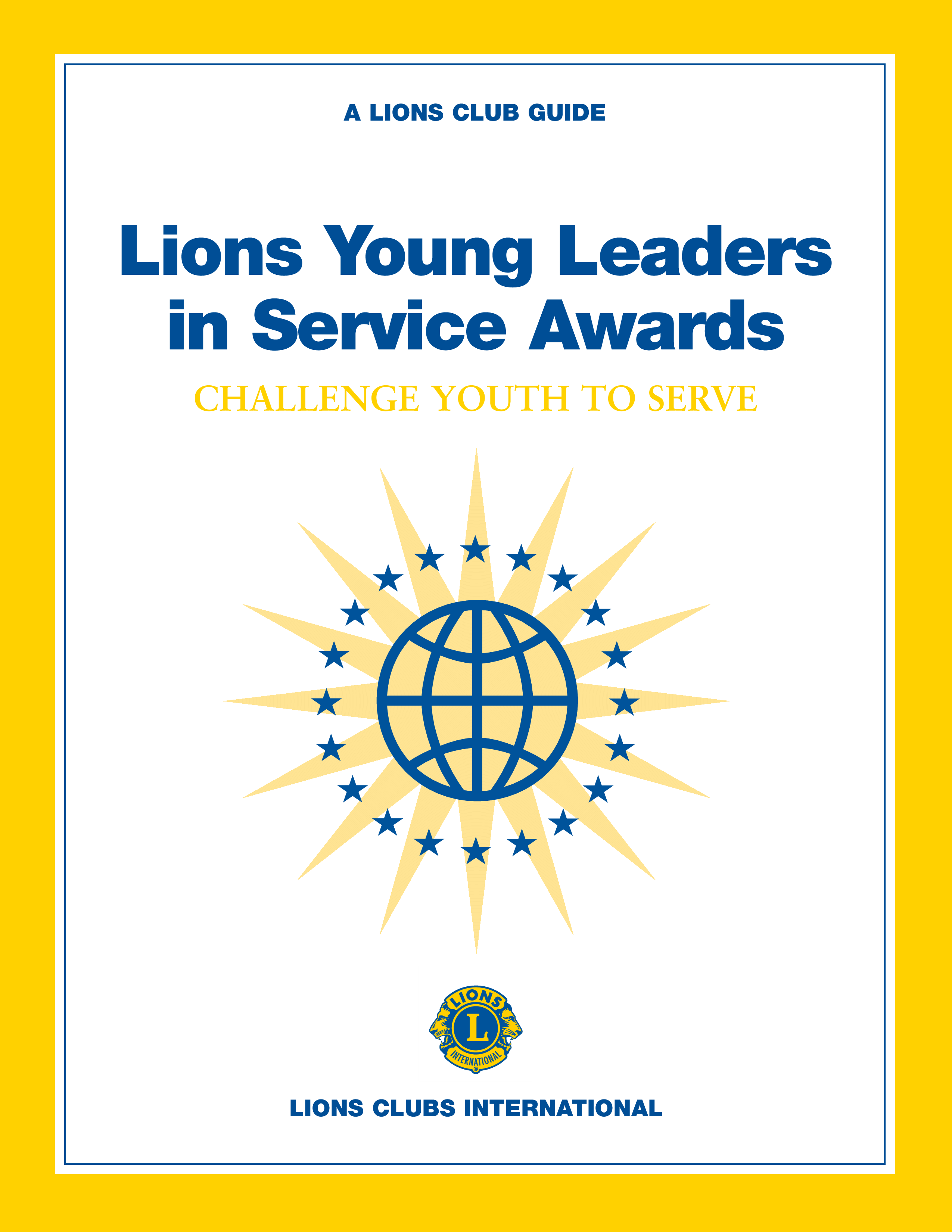 free young leaders in service award templates at