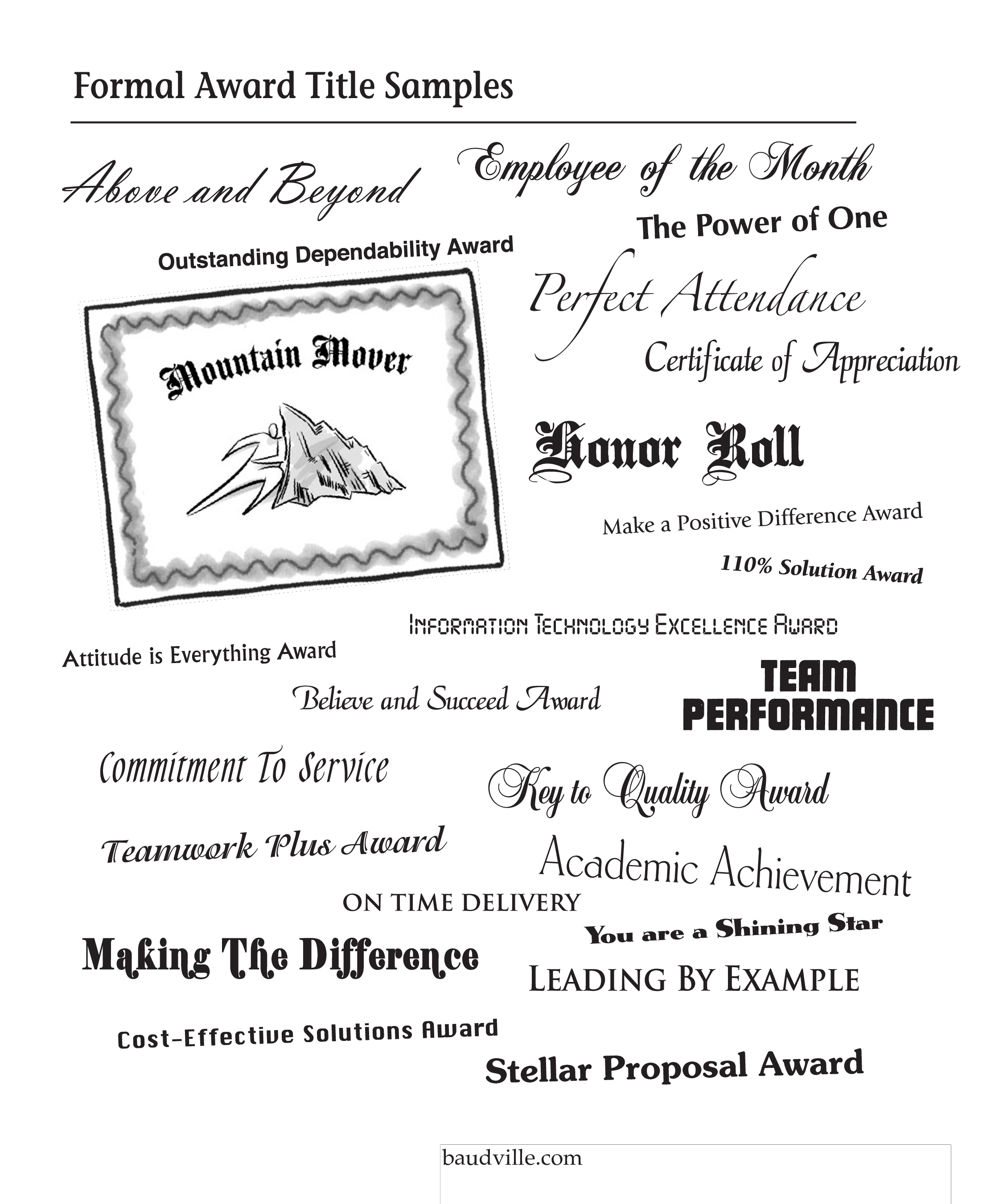 Free Sample Employee Recognition Award Certificate Templates At