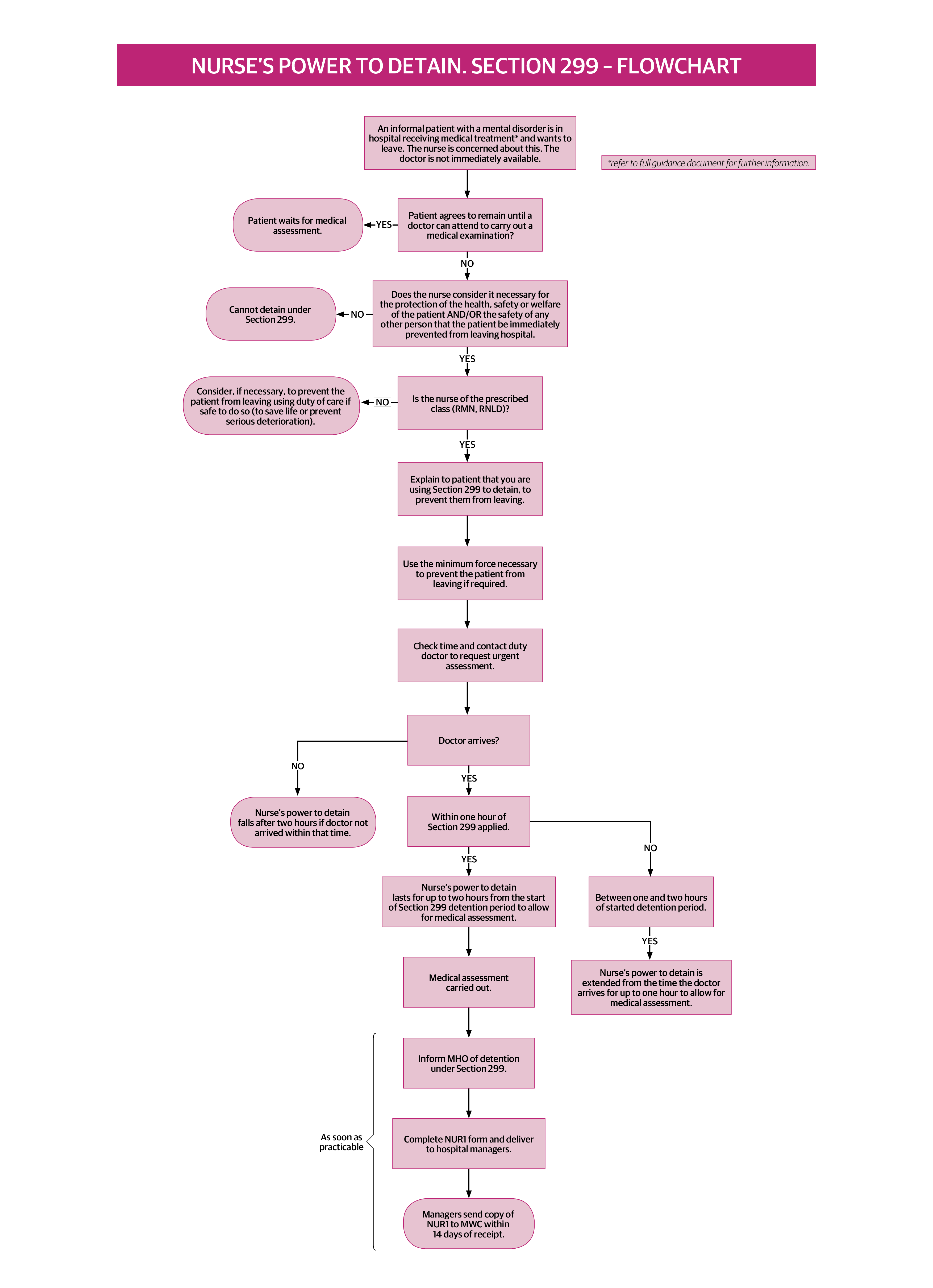 Nursing Assessment Flow Chart Main Image