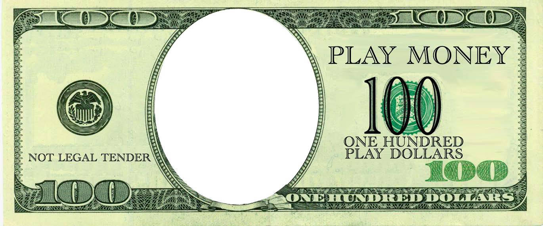 100 Dollars Play Money