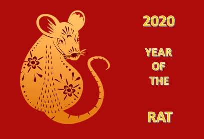 Chinese New Year 2020, year of the Rat