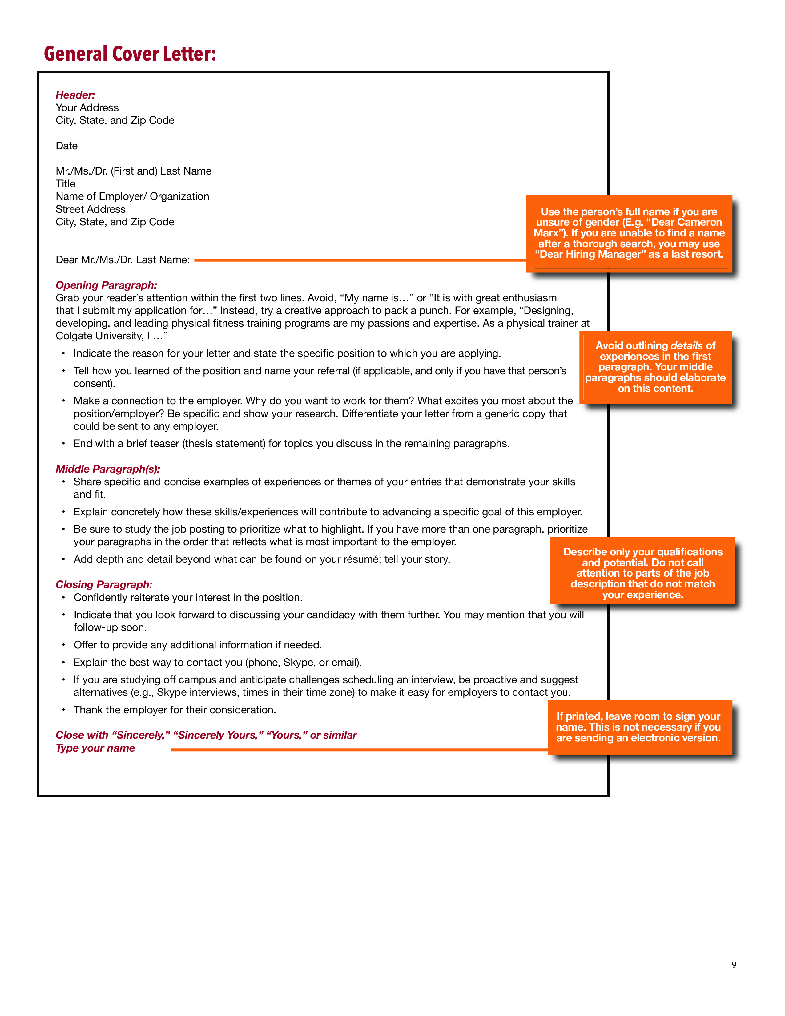 Kostenloses CV and Application Cover Letter templates