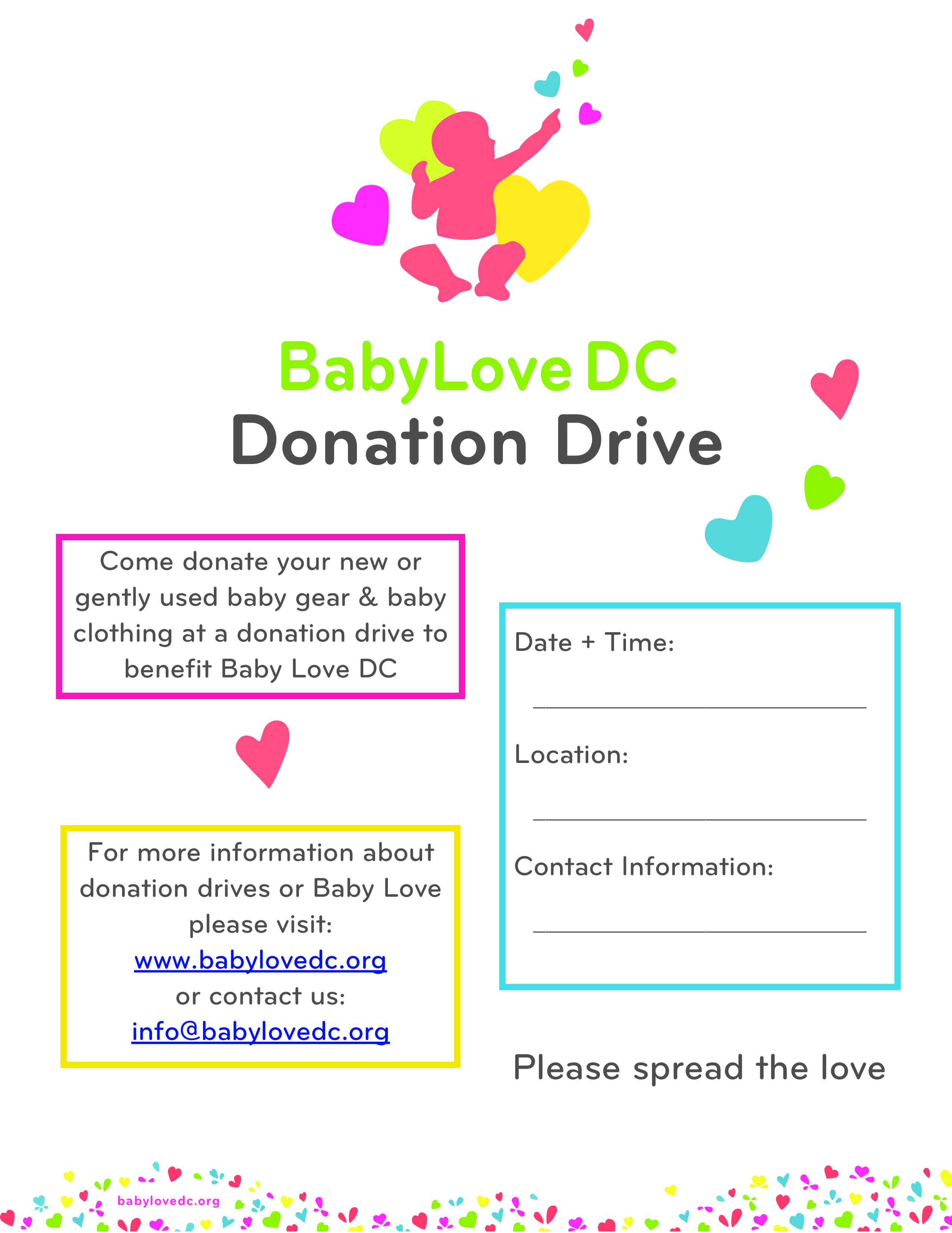 free donation drive flyer templates at