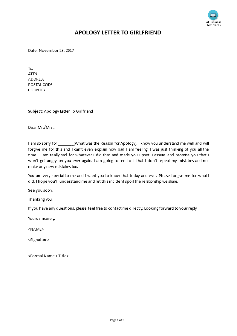 apology letter to girlfriend apology letter to templates at 10567 | f24ee765 d1b9 4bec 8f83 88af18438ba6 1