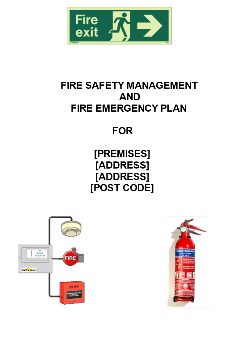 Fire Safety Management Plan main image