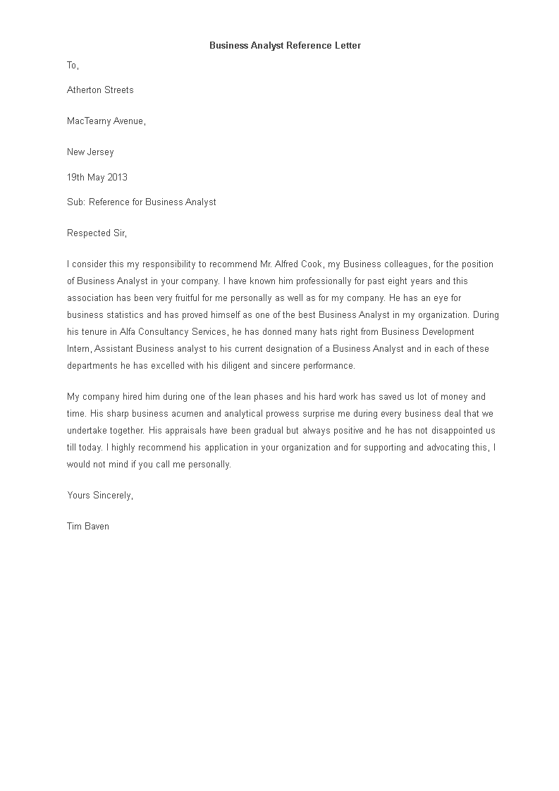 Recommendation Letter For Business from www.allbusinesstemplates.com