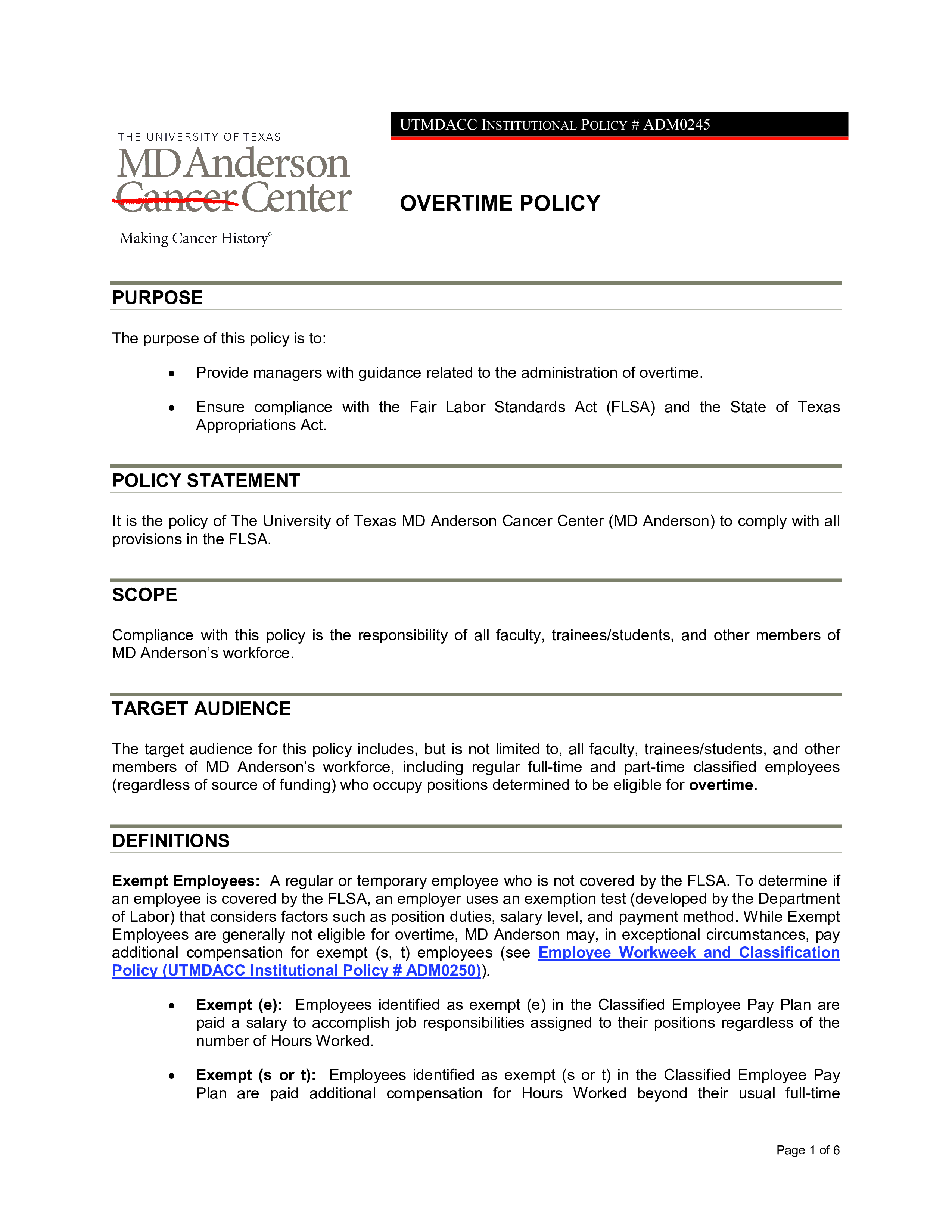 medical clinic overtime policy main image download template
